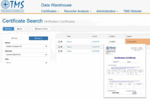 TMS DATA Warehouse